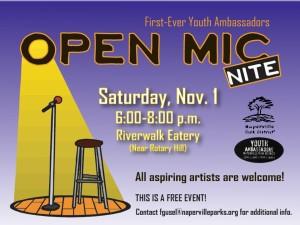 Open Mic slide - NVHS