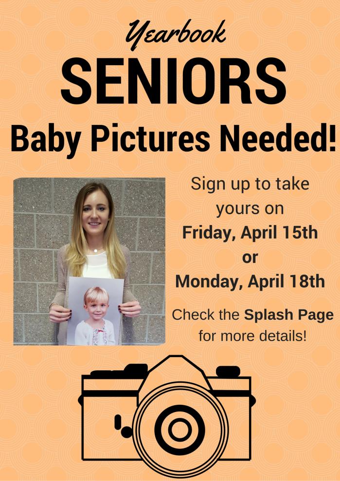 senior baby picture ad