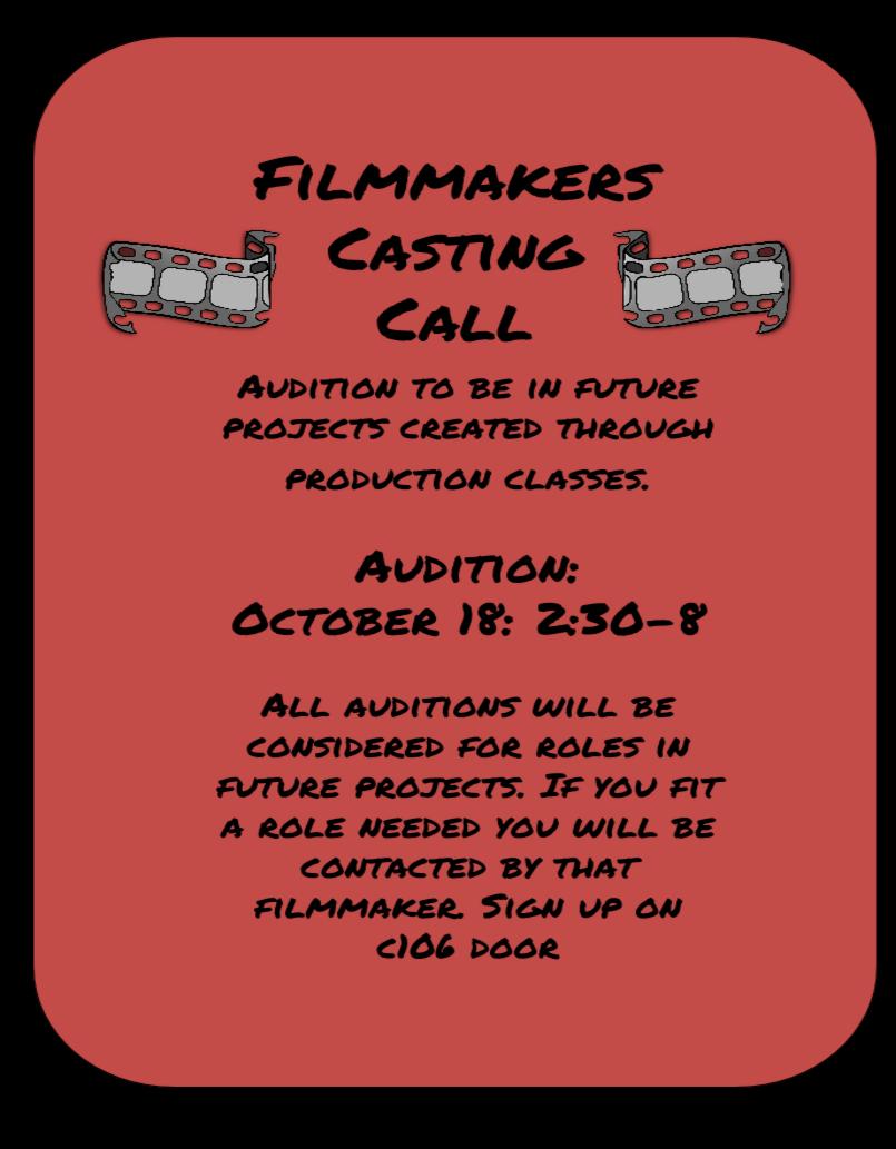 Filmmakers Casting Call Neuqua Valley High School